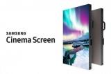Samsung представила огромный QLED-экран для кинотеатров