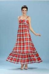 Длинное платье в клетку в пол: фото, интересные идеи для создания образов