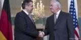 Габриэль и Тиллерсон обсудили ситуацию в Украине и Сирии