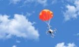 Для дронов розробили багаторазові парашути