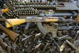 В Киеве милиция изъяла три мужчины арсенал оружия и боеприпасов
