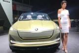 Франкфурт-2017: ?koda усовершенствовал электрический автомобиль Vision И