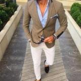 С чем носить коричневую куртку: мужчины и женщины стильные образы, советы и фотографии