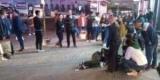 В Китае мужчина с ножом напал на прохожих, много пострадавших